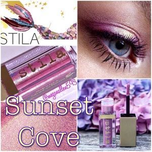 Stila Glitter & Glow Liquid Eyeshadow, Sunset Cove